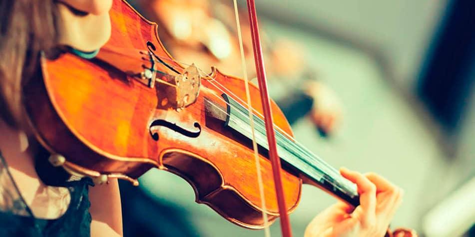 fjernundervisning i fiolin